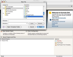Komodo Edit screenshot 3