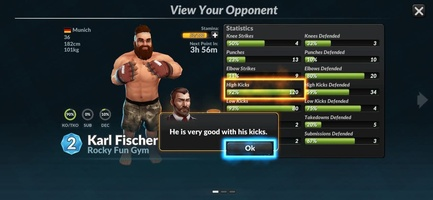 MMA Manager 2: Ultimate Fight screenshot 8