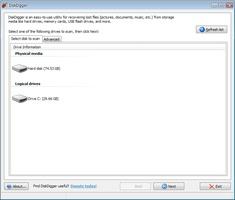 DiskDigger screenshot 2