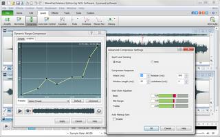 WavePad Free Audio, Music and Mp3 Editor screenshot 5