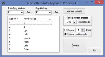 Auto Keyboard Presser screenshot 2