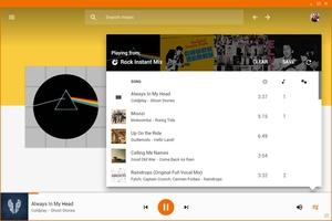 Google Play Music Desktop screenshot 3