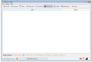 QT SperoCoin screenshot 6