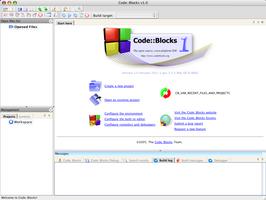 Code::Blocks screenshot 2