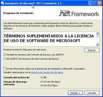 Microsoft NET Framework screenshot 2