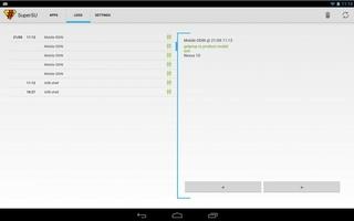 SuperSU screenshot 2