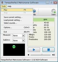 TempoPerfect screenshot 5