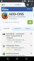 Firefox Beta screenshot 5
