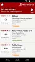 GrubHub Food Delivery screenshot 3