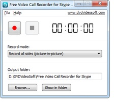 Free Video Call Recorder for Skype screenshot 2