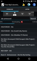 Free Mp3 Downloads screenshot 4