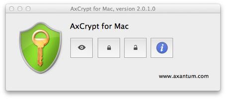 AxCrypt screenshot 2