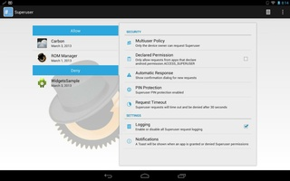 Super user screenshot 2