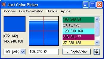 Just Color Picker screenshot 3