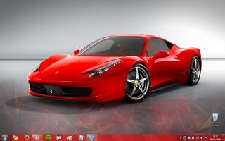 Ferrari Windows 7 Theme screenshot 2
