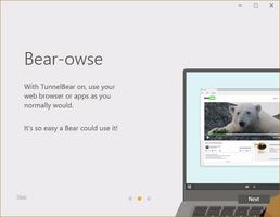 TunnelBear screenshot 4