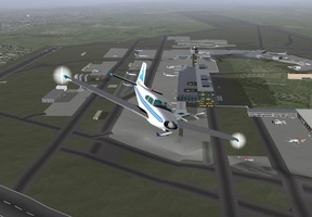 FlightGear Flight Simulator screenshot 2