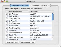 The Unarchiver screenshot 2
