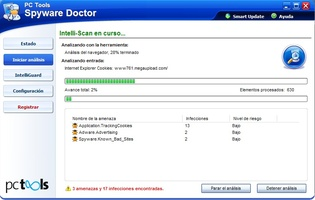 Spyware Doctor screenshot 3