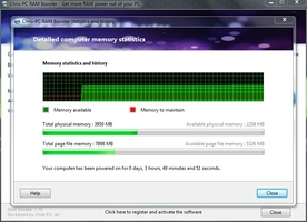 Chris-PC RAM Booster screenshot 6
