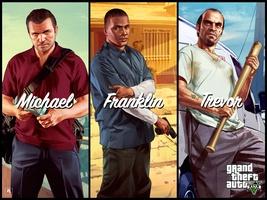 Grand Theft Auto V Wallpaper screenshot 2