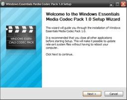 Windows Essentials Codec Pack screenshot 3
