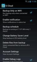 G Cloud Backup screenshot 6