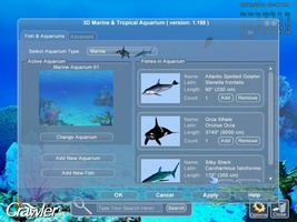 3D Marine Aquarium Screensaver screenshot 3
