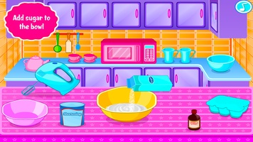 Sweet Cookies - Game for Girls screenshot 2