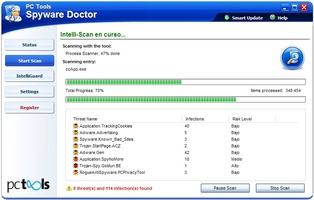 Spyware Doctor screenshot 6