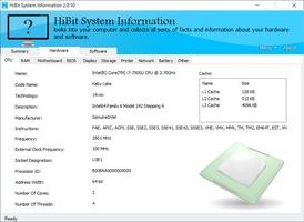 HiBit System Information screenshot 3