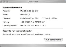 Geekbench screenshot 5