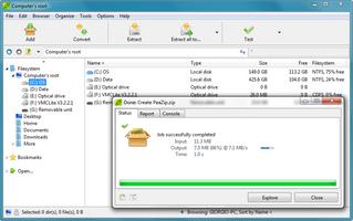 PeaZip screenshot 2
