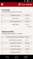 GrubHub Food Delivery screenshot 5