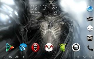 Skull Theme screenshot 6