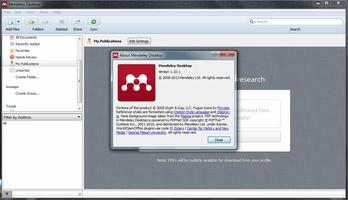 Mendeley Desktop screenshot 6