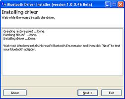Bluetooth Driver Installer screenshot 2