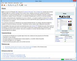 Kiwix screenshot 3