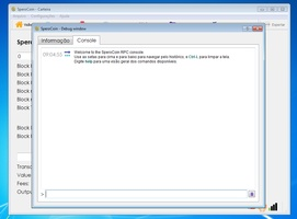 QT SperoCoin(x64) screenshot 11