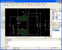 QCAD screenshot 2