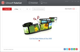 Gihosoft TubeGet Free YouTube Downloader screenshot 3