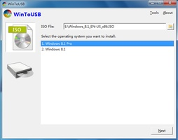WinToUSB screenshot 2