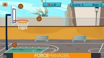 Basketball Bubble Toss Burst Free Mega Super Games screenshot 4
