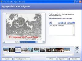 Microsoft Photo Story screenshot 8