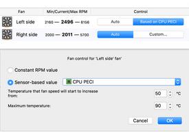 Macs Fan Control screenshot 3
