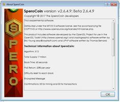 QT SperoCoin screenshot 11