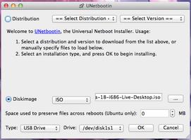 UNetbootin screenshot 3