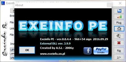 Exeinfo PE screenshot 4
