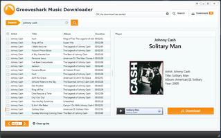 Grooveshark Music Downloader screenshot 2