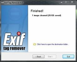 Exif Tag Remover screenshot 5